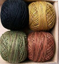 Valdani Perle Cotton size 12 Bertie's Winter by Bonnie Sullivan
