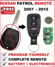 Nissan Patrol Remote Key less Entry Fob 2007 2008 2009 2010 2011 2012