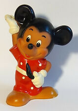 """New listing Vintage Soviet rubber toy """"Mickey Mouse"""". Doll Ussr 5.9 inc. (squeaks)"""