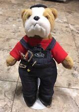 Mack Trucks Bulldog Handyman Plush Stuffed Animal Doll Mack Truck Collectible