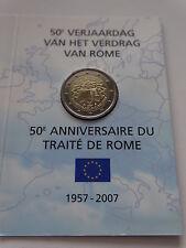 Coin / Munt 2007 Belgie 2 Euro 50e verjaardag verdrag van Rome