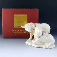 Lenox China First Blessing Nativity Pair of SHEEP ~ Is this last piece you need?