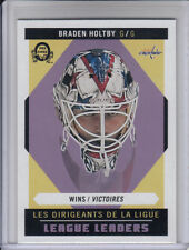 17/18 OPC Washington Capitals Braden Holtby Retro League Leaders card #592