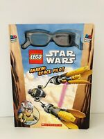 Lego Star Wars: Anakin : Space Pilot by Ace Landers (2011, Hardcover)