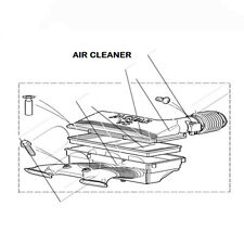 JAGUAR X-TYPE EXCEPT 2.0LT PETROL FROM VIN J47354 AIR CLEANER ASSEMBLY C2S51229