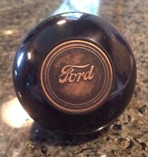 FORD SCRIPT LOGO BAKELITE SHIFT KNOB STEERING WHEEL SUICIDE SPINNER HANDLE FAST!