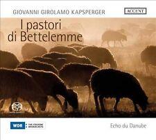 GIOVANNI GIROLAMO KAPSPERGER: I PASTORI DE BETTELEMME NEW CD