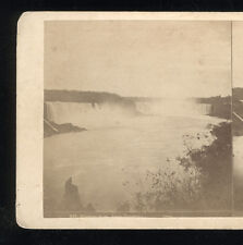 1860s Stereoview Niagara Falls from Canadian Side
