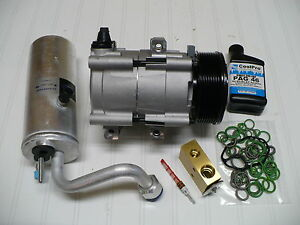 2004-2005 Ford Excursion (6.0L Diesel) New A/C AC Compressor Kit