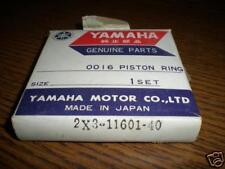 NOS Yamaha Piston Ring 1.00 1979-80 YZ125 2X3-11601-40