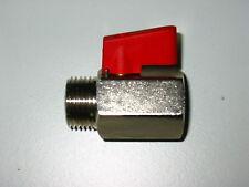 "Mini-Kugelhahn 3//8 /"" Innen-Aussengewinde 290103"