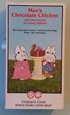 children's circle  MAX'S CHOCOLATE CHICKEN and other stories VHS VIDEOTAPE