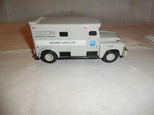 "ERTL #F116 ""Brinks Security #1"" 1959 GMC Armored Truck 1/32 Scale MIB NOS"