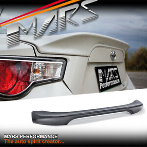 ABS Plastic Rear Trunk Lip Spoiler Wing for TOYOTA 86 GT GTS & SUBARU BRZ & TRD