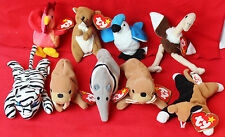 ty   TEENIE BEANIE BABIES   Lot Of Nine Various Little Animals   Most With Tags