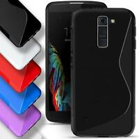 LG Leon LTE Silicone Gel S Line Case Cover Ultra Thin Slim Back Bumper