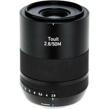 Zeiss 50MM Touit F2.8 for Fuji X-Mount Fit Lens - Ex demo