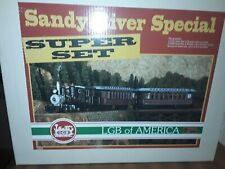 LGB 72859 SANDY RIVER SUPER SET G-SCALE VERY RARE NIB