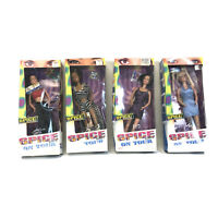 Spice Girls On Tour  Set of 4 Dolls Galoob In Boxes. Sporty, Baby, Posh, Scary