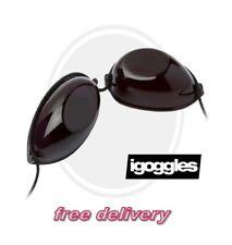 2 Pair Sunbed Goggles, 2 iGoggles, Tanning Glasses, Eye Protection,NEW slimline