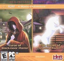 Nancy Drew Curse of Blackmoor Manor & Secret of Shadow Ranch PC Game Window 10 8