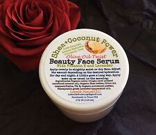 Shea Butter Concentrated Face Serum With Olive Oil & Vit E - Mature and Dry Skin