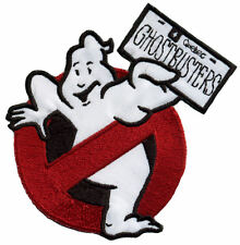 Quebec Canada - Ghostbusters No Ghost Embroidered Iron on Patch