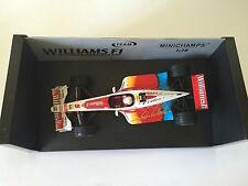 Alex Zanardi Hand Signed Williams 1999 Minichamps 1:18 Diecast Model.