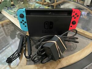 Nintendo Switch 32GB Console with Neon Red and Neon Blue Joy-Con