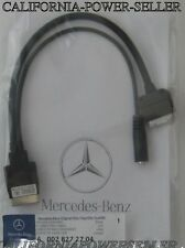 OEM 12-14 Mercedes E CL CLS SL S SL Class iPod iPhone AUX Music Cable Adapter