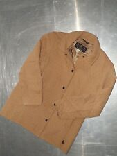 Barbour womens long sleeve light brown parka quilted jackets size UK 14 EUR 40