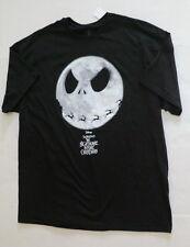 mens medium Nightmare before Christmas shirt new jack Skellington moon reindeer