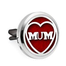 1pcs 30mm mum Alloy Car Vent Clip Air Freshener Essential Oil Diffuser Locket