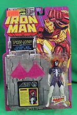 Iron Man Series Spider-Woman Psionic Web Figure Toy Biz 1994 New on Card