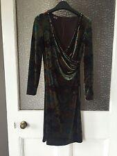 Midi Velvet Wrap Dresses