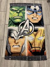 Marvel avengers beach towel Kids New