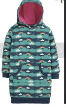 Frugi Harriet Hoody Above The Clouds 7-8 Years BNWT
