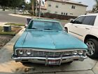 1966 Chevrolet Caprice  1966 Chevrolet Caprice Coupe Green RWD Automatic