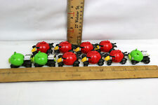 Lot Of 17 Angry Birds Die Cast Vehicles