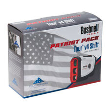 Bushnell Tour V4 Cambio Patriot Pacco Golf Telemetro Laser W Custodia & Batteria