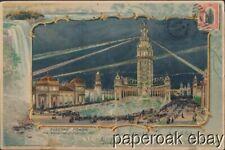 1901 Pan-American Exposition Buffalo Large Postally Used Postcard