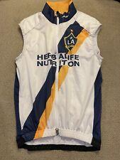 Men's Jakroo LA Los Angeles Galaxy Herbalife Cycling Bike Vest Jacket Medium M