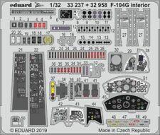 Eduard 1/32 Lockheed F-104G Starfighter Interior Zoom Set # 33237