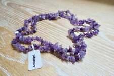 All-healer Necklace February Birthstone Amethyst Quartz Reiki Prayer Beads Yoga
