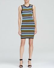 TORN BY RONNY KOBO Ambrosia Corded Bubble Knit Dress Size M NWT $358