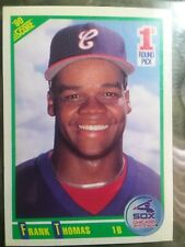 1990 Score Frank Thomas Chicago White Sox #663 Baseball Card