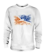 TIERRA DEL FUEGO PROVINCE DISTRESSED FLAG UNISEX SWEATER TOP GIFT SHIRT
