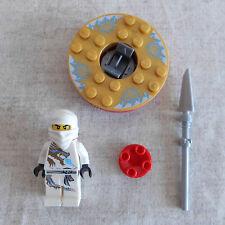 Lego Ninjago Zane DX Minifigure With Spinner njo018