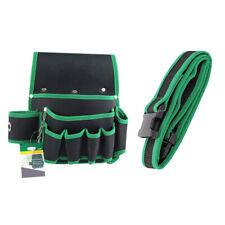 Tool Belt Pocket Pouch - Utility Waterproof Adjustable Waist Strap Tools bag Kit