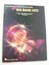 Easy Big Band Hits Arranged Organ Lois Geiger Variety Songs